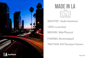 This LA Startup is Upcycling Speakers and it is Awesome