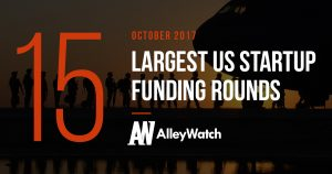 The 15 Largest US Startup Funding Rounds of October 2017