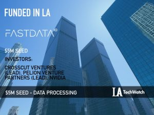 Fastdata.io Raises $5M to Increase Data Processing by 3 Orders of Magnitude